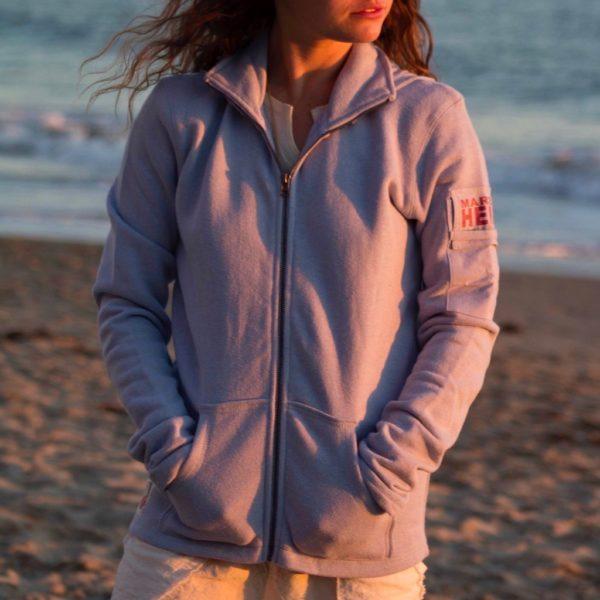 natural fiber sweatshirt