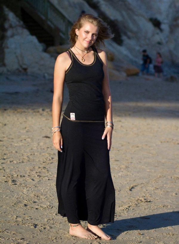 bamboo maxi skirt