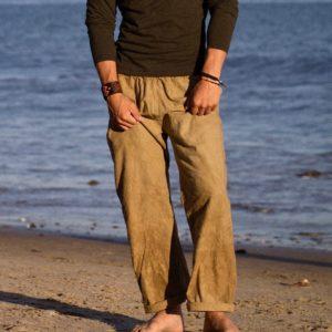 relaxed hemp pants